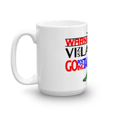 15oz Mug WARNING Vizsla Going Postal 3