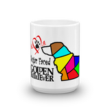 11oz Mug Love is a Sugar Faced Golden Retriever 4