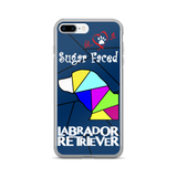 Love is a Sugar Faced Labrador Retriever - iPhone 7/7 Plus Case 3