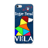 Love is a Sugar Faced Vizsla - iPhone 5/5s/Se, 6/6s, 6/6s Plus Case 2