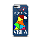Love is a Sugar Faced Vizsla - iPhone 7/7 Plus Case 3