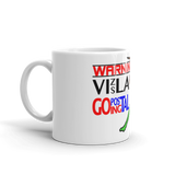 11oz Mug WARNING Vizsla Going Postal 2