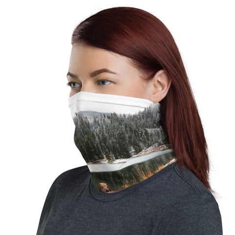Neck Gaiter - Mountains and Lakes - Vizsla Style