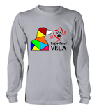 Sport Grey Long Sleeved T-Shirt Love is a Sugar Faced Vizsla