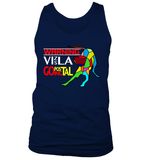 "Tank Top ""Warning - Vizsla Going Postal"" Premium"
