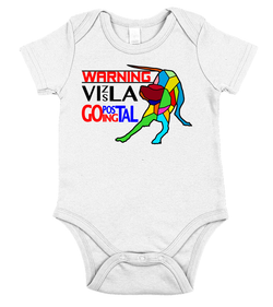 WARNING - Vizsla Going Postal - Baby Onesie