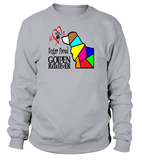 "Sweatshirt ""Love is a Sugar Faced Golden Retriever"" Premium"