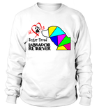 "Sweatshirt ""Love is a Sugar Faced Labrador Retriever"" Premium"