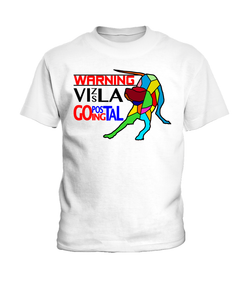 "T-Shirt ""Warning - Vizsla Going Postal"" Children's Premium"