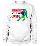 "Sweatshirt ""Warning - Vizsla Going Postal"" Premium"