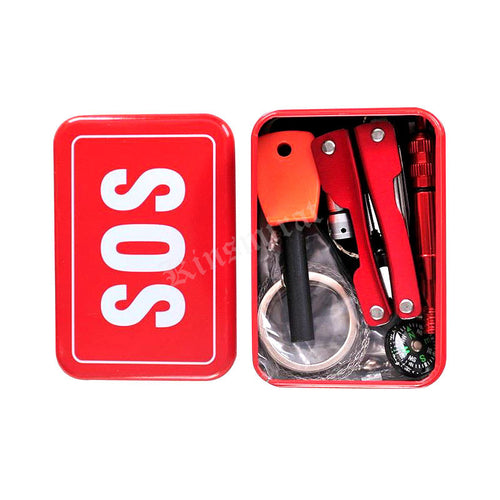 2016 Outdoor emergency equipment with survival self-help box & SOS equipment