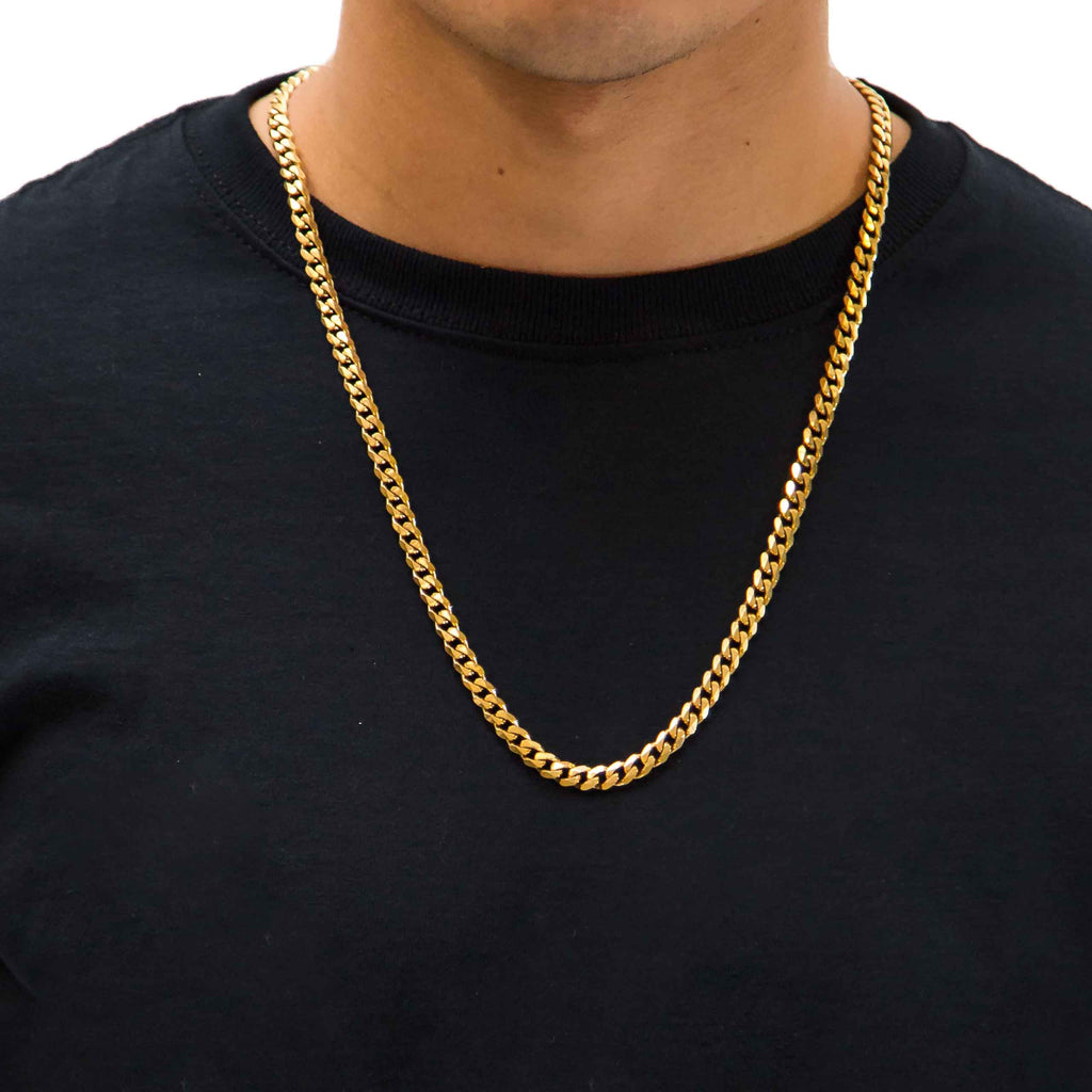 cuban chain gold chains microcubanlink micro products mind the link