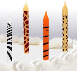 Jungle Animal print Themed birthday party set - Serves 16 Guest