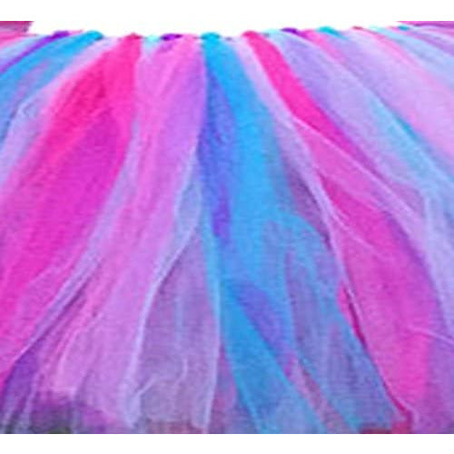Solid Colors Tulle Rolls Spool - Three Spools of Tulle Fabric on 3 Beautiful Colors Turquoise, Pink and Purple - 25-Yard Each