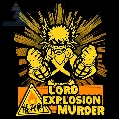 """Lord Explosion Murder"" T‑Shirt"