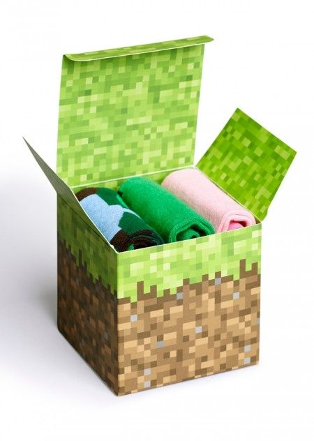 Happy Socks x Minecraft Box Set
