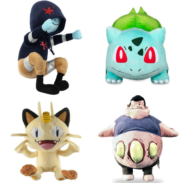 Plushies - Pokemon and Left For Dead