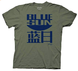 Ripple Junction Firefly Blue Sun Adult T-Shirt