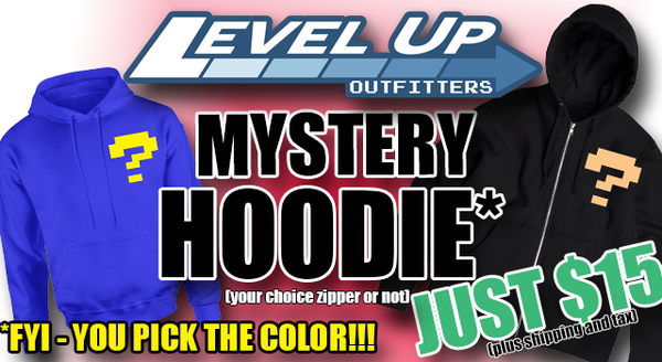 Mystery Hoodie Sale! You Pick the Color and Type