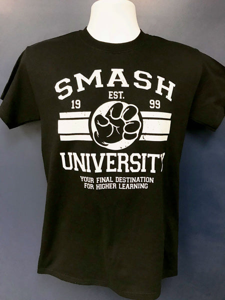 """Smash University"" T-Shirt (Black)"