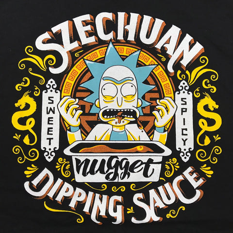 """Grandpa's Dipping Sauce"" T‑Shirt (BLACK)"
