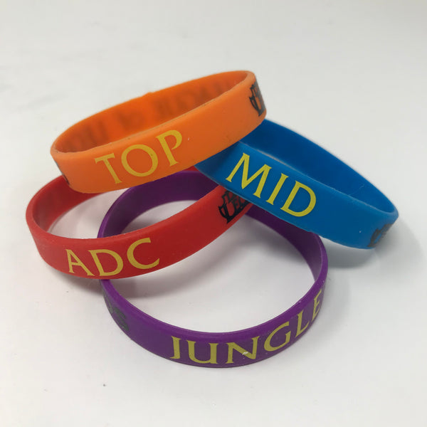 League of Legends Colorful Themed Wristband Bracelets