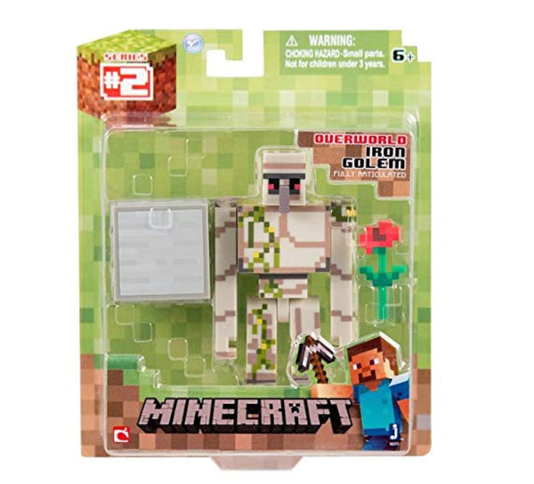 Minecraft Iron Golem Figure Pack - Clearance Sale!!!