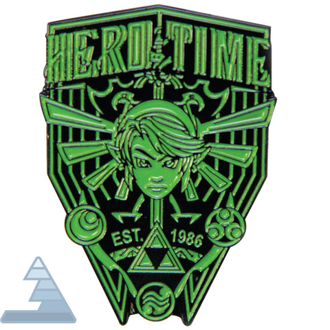 """Hero of Time"" - Enamel Pin"