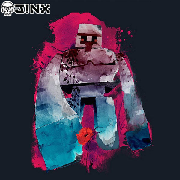 Minecraft Men's Iron Golem Mens Premium T-Shirt