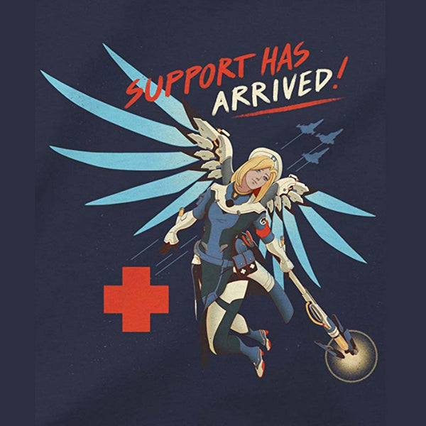 Overwatch Support Has Arrived (Mercy) Men's Gamer T-Shirt