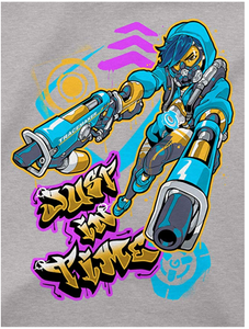 JINX Overwatch Graffiti Tracer Men's Gamer Tee Shirt