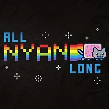 """All Nyan Long"" T‑Shirt"