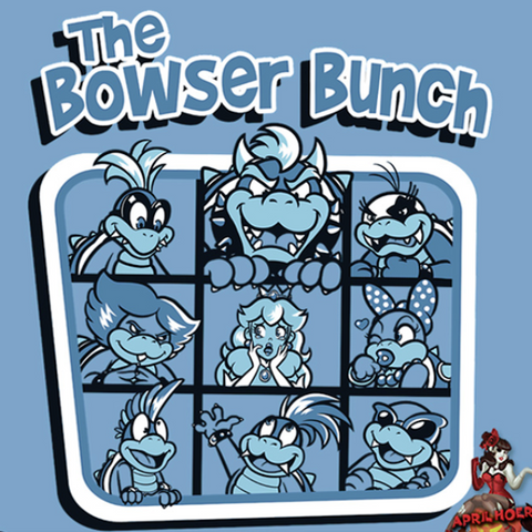 """The Bowser Bunch"" T‑Shirt"