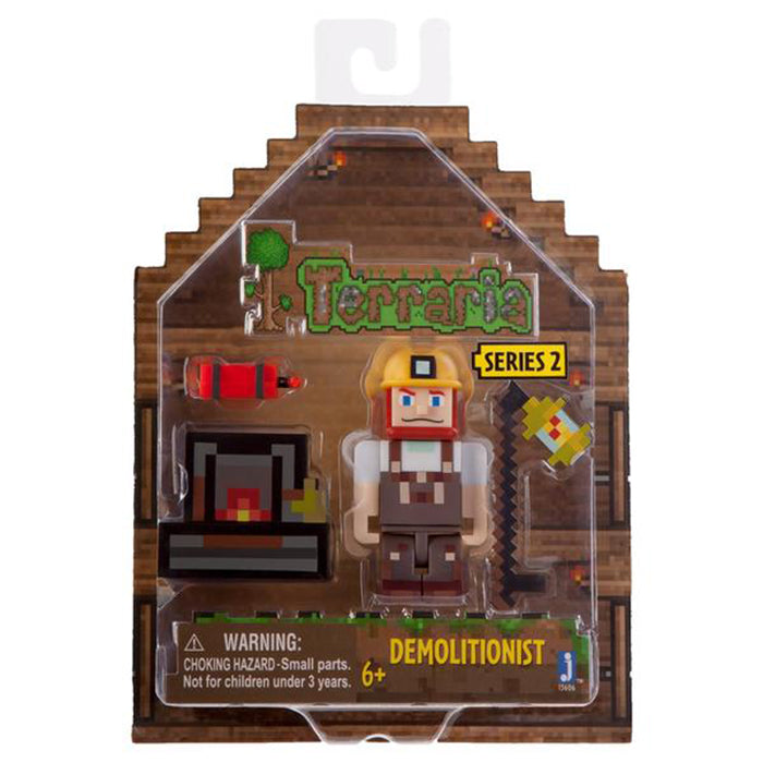 Terraria Demolitionist Figure with Accessories by Terraria - Clearance Sale!!!
