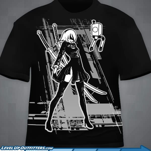 """A Blade of Quiet Determination"" T‑Shirt"