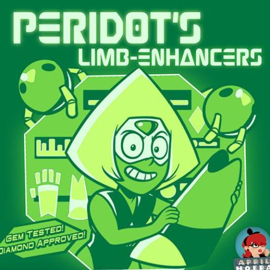 """Peridot's Limb‑Enhancers"" T‑Shirt & Tank Top"