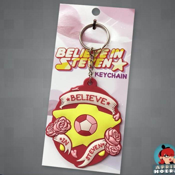 """Believe In Steven"" Keychain"
