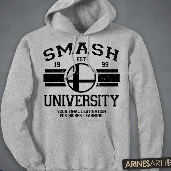 """Smash University"" Zip-Up & Pullover Hoodie"