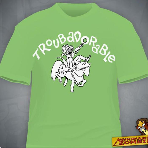 """Troubadorable"" T-Shirt"