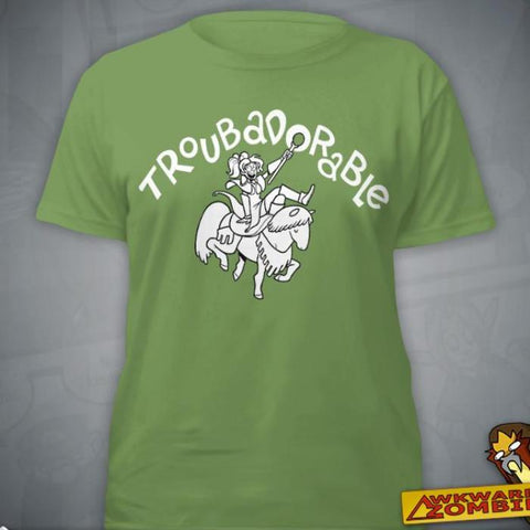 """Troubadorable"" T‑Shirt"
