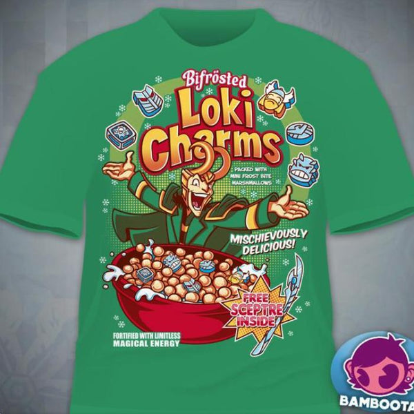 """Loki Charms"" T-Shirt"