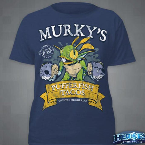 """Murky's Pufferfish Tacos"" T-Shirt"