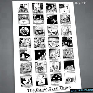 """The Game Over Tinies"" Poster"