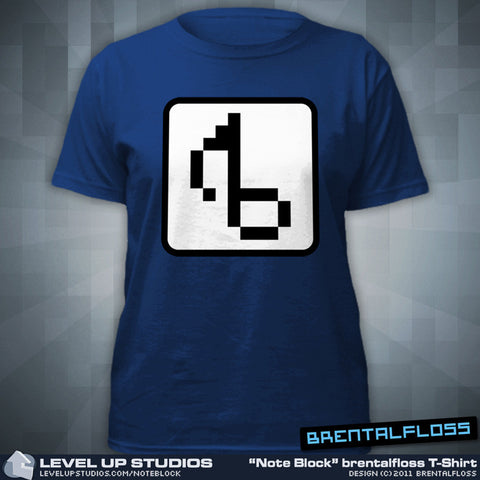 "Brentalfloss ""Note Block"" T-Shirt"