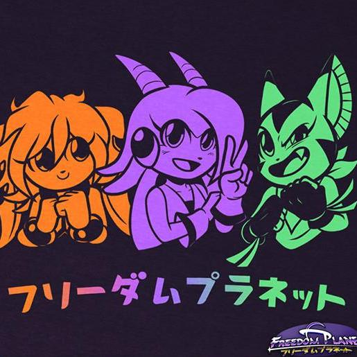 "Freedom Planet ""Heroes"" T‑Shirt"