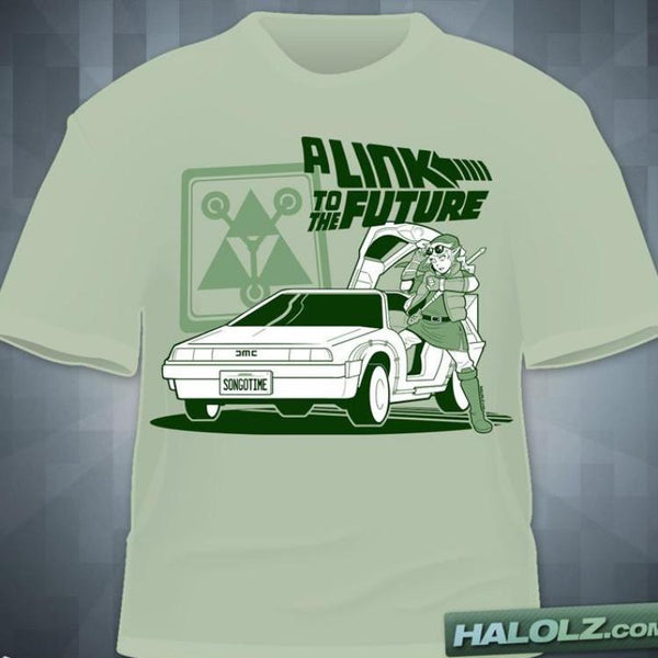 """A Link To The Future"" T-Shirt"
