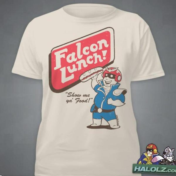 """Falcon Lunch"" T-Shirt"