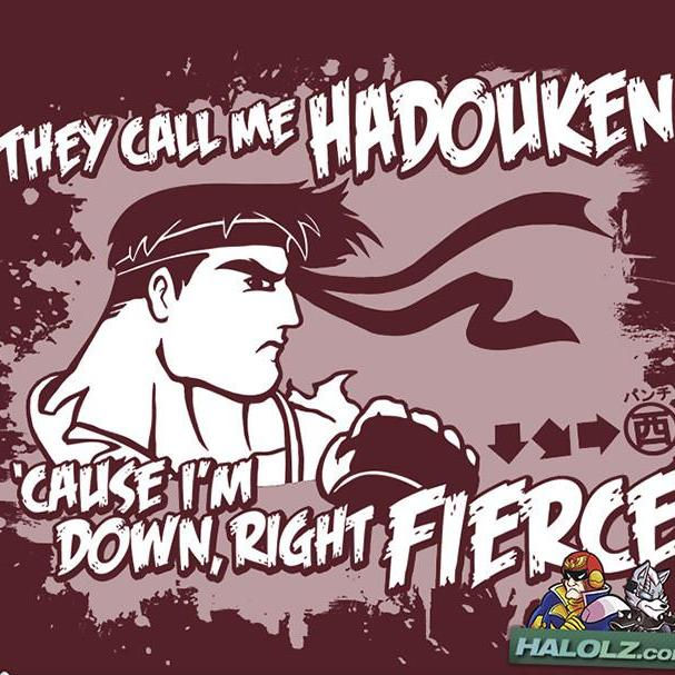"""They Call Me Hadouken"" T-Shirt"