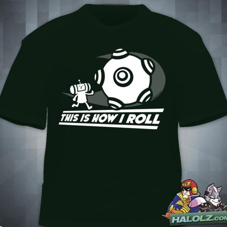 """96d084ba5 This Is How I Roll"""" T‑Shirt – Level Up Outfitters"""