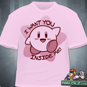 """I Want You Inside Me"" T-Shirt"